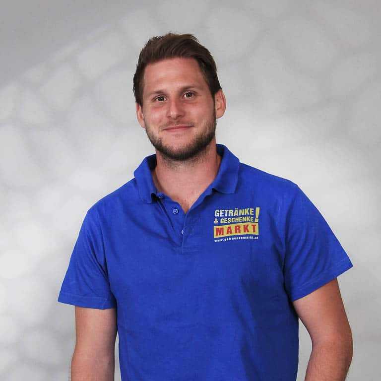 Philipp Kandut vom Getränkemarkt