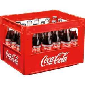 Coca Cola beim Getränkemarkt bestellen