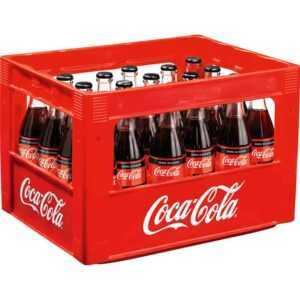 Getränkefachmarkt liefert Coca Cola