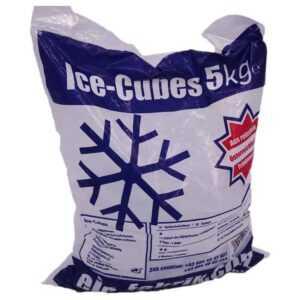 Getränkezustelldienst liefert auch Eiswürfel