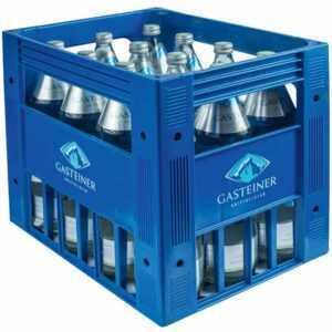 Gasteiner Mineralwasser für Feste