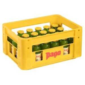 Lieferservice bringt Pago-Säfte zu Ihrer Party