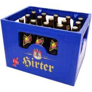 Hirter Bier von Kärntner Traditionsbrauerei