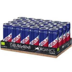 Getränkefachmarkt liefert Red Bull Organics